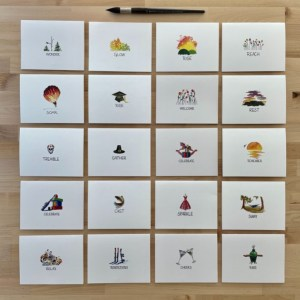 """""""One Word"""" Greeting Card Collection"""