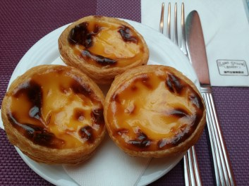 Egg tarts from Lord Stow's Garden Cafe is similarly price at HKD9 like anywhere else I looked into.