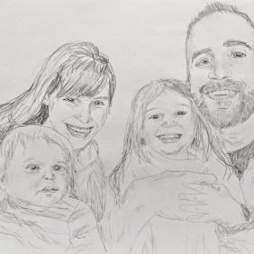Family Portrait Original