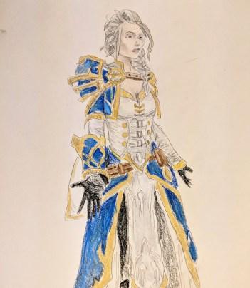 Jaina Proudmoore, from Warcraft