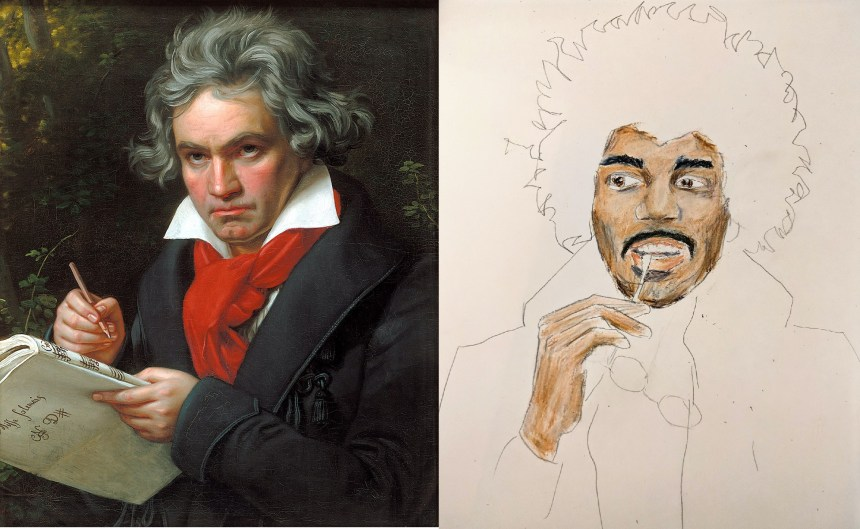 Beethoven and Hendrix