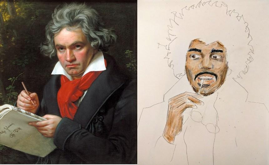 Beethoven and Hendrix