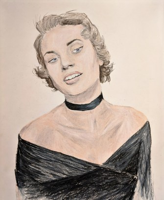 Grace Kelly Drawing