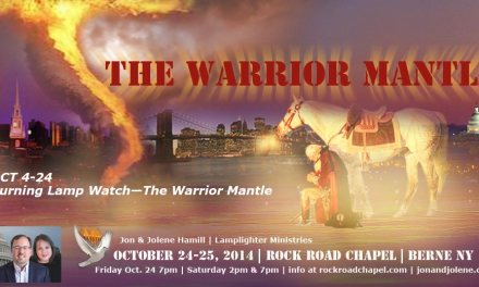 The Plumbline, the Blood Moon & the Warrior's Mantle—Part I
