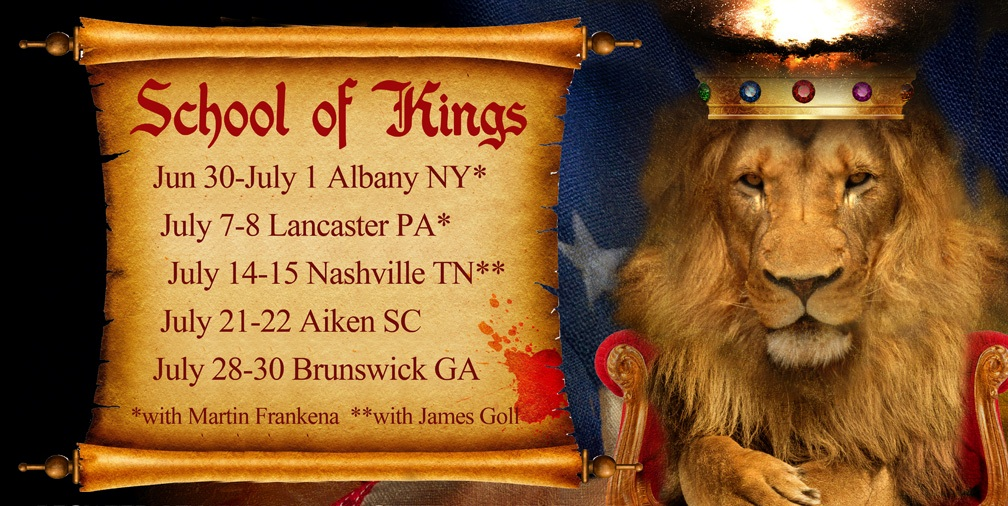 Summer School! Join Us for School of Kings