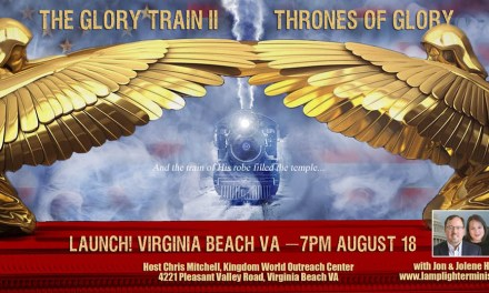 Glory Train Launches Tonight! Because America's Best Hope is a Move of God