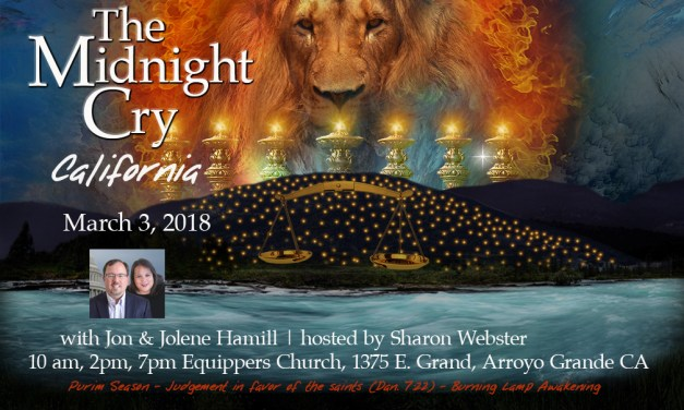 """Call Tonight—Keys, Seals and the Purim Gate—with """"Steakhouse Prophecy"""" from Chuck Pierce"""
