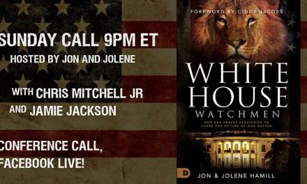 SUNDAY CALL! 9pm with Jamie Jackson, Chris Mitchell—Call and FB Live!