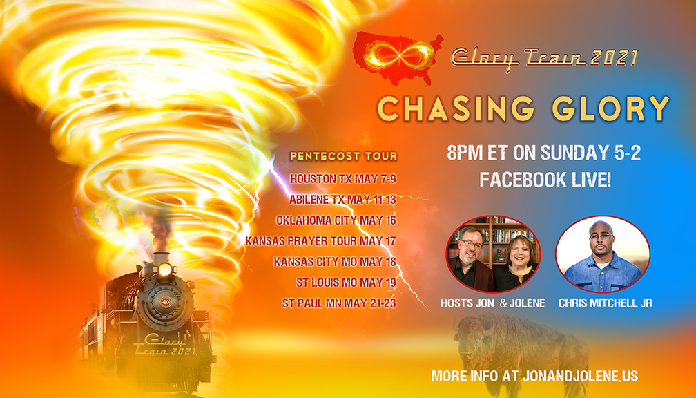 FB LIVE 8pm SUNDAY WITH CHRIS MITCHELL, LORI PERZ—CHASING GLORY!