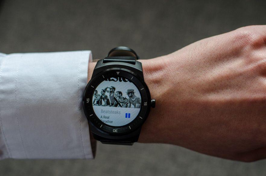 Musiksteuerung mit der LG G Watch R