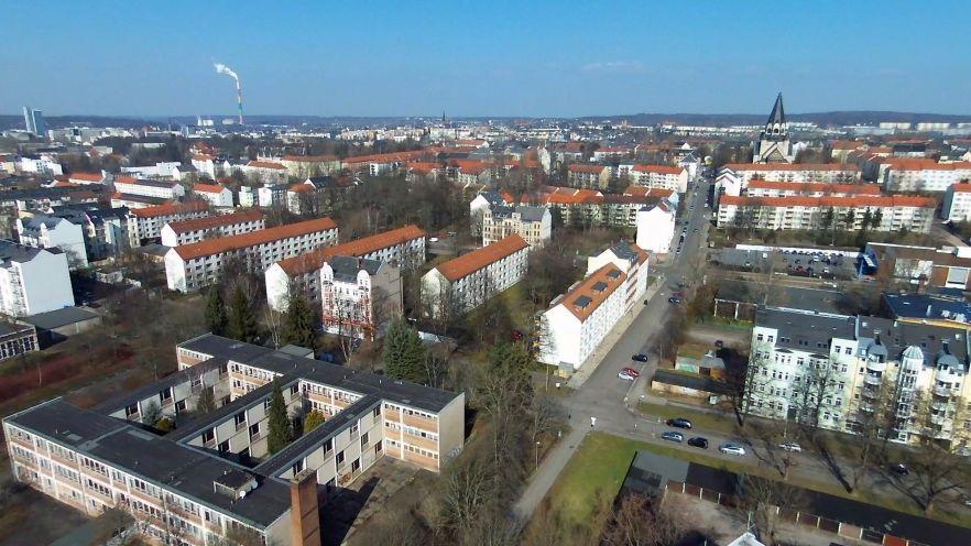 Der Chemnitzer Stadtteil Bernsdorf