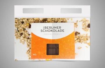 Verpackung: Schokolade