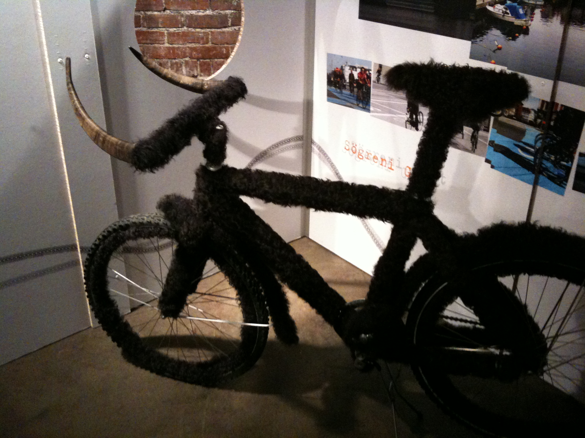 wild thing fur and horn bike