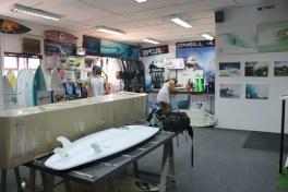 The showroom