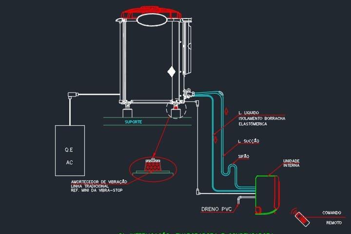 evaporadora-condensadora-ar-condicionado-dwg