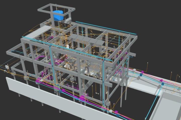 Software BIM para projetos de estrutura e instalações