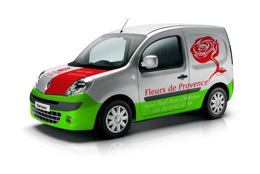 Habillage véhicule Fleurs de Provence