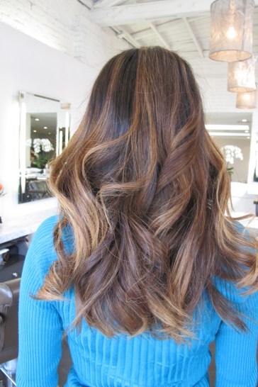 brunette highlights 2013
