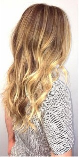 honey gold blonde highlights