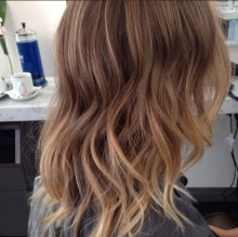 natural blonde ombre