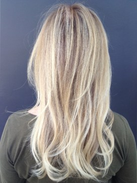 butter blonde highlights