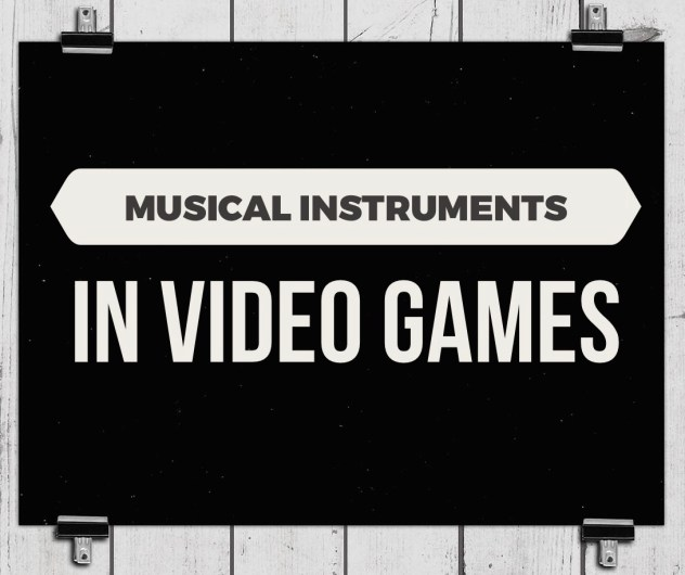 Musical instruments in video games