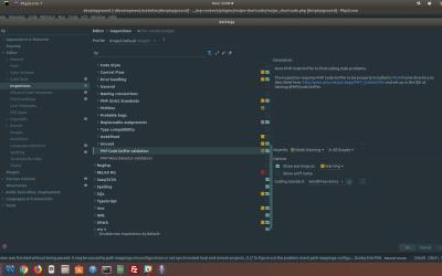Setting up the PHP Code Sniffer with WordPress Coding Standards Integration for PHPStorm on Ubuntu 17.10
