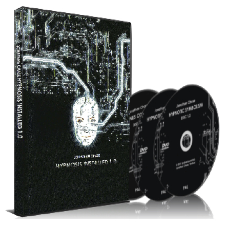 Hypnosis Installed DVD or Online with Jonathan Chase Hypnotist