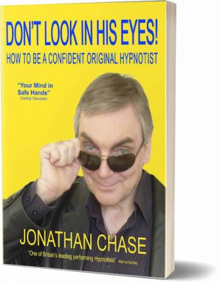 Don't Look In His Eyes book Jonathan Chase hypnotist shop