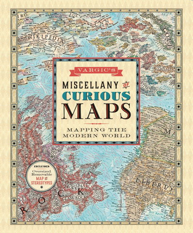 Vargic's Miscellany of Curious Maps (book cover)