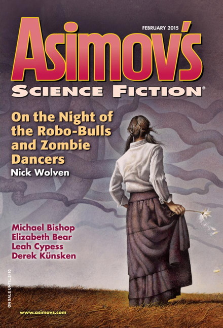 Magazine cover: Asimov's Science Fiction (February 2015)