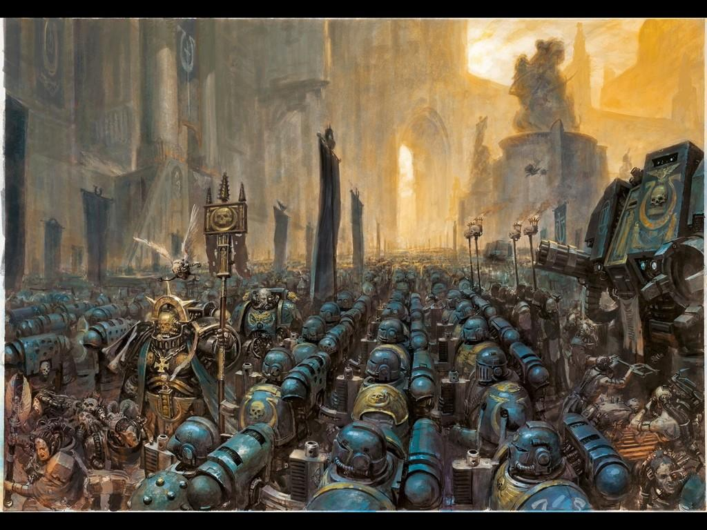 Ultramarines on review; now in colour!
