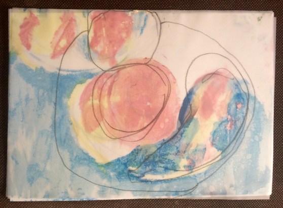 London Sketch Club 14 September 2016: Cezanne Apples by Emma Galitzine