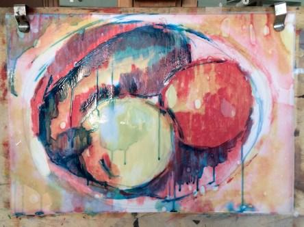 London Sketch Club 14 September 2016: Cezanne Apples by Tats Guthrie