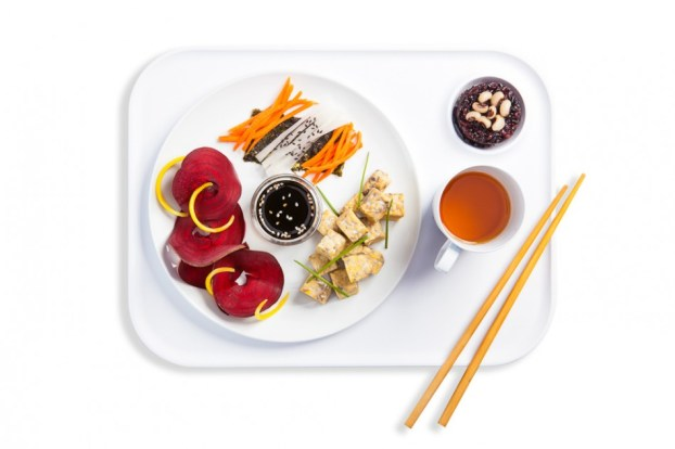 The Macrobiotic Lunch Tray
