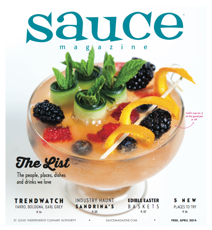 Sauce Magazine Cover April 2014