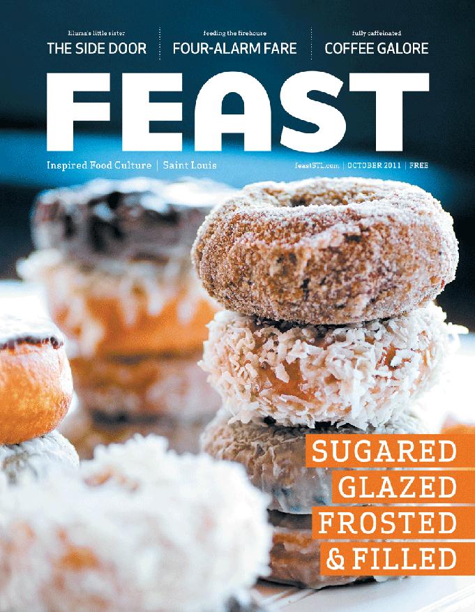 Feast Magazine, October 2012