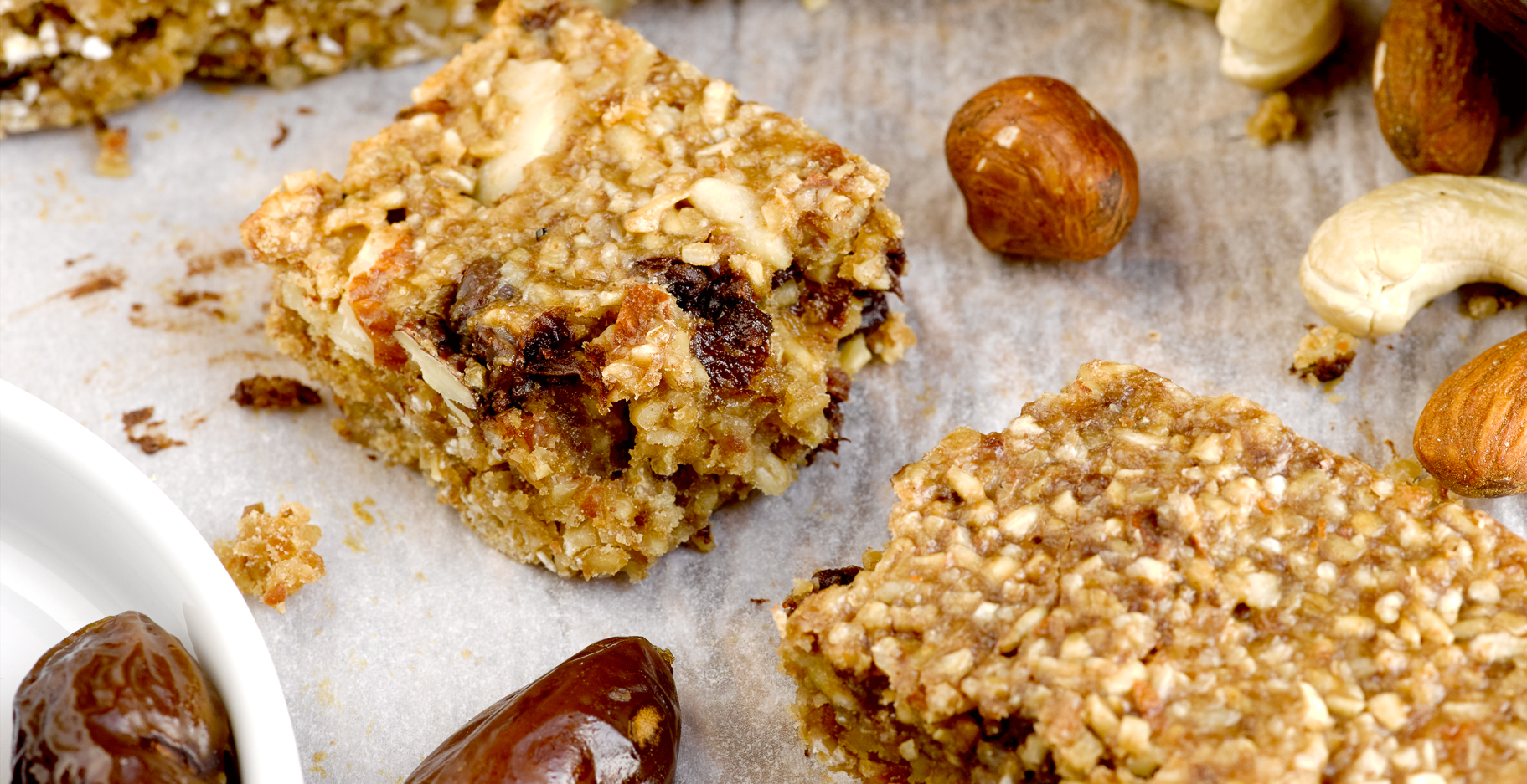Home-Made Date Nut Protein Bars | St. Louis Photographer ...