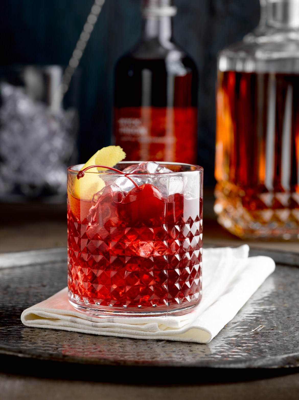 Lingonberry Old Fashioned