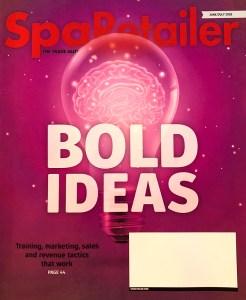 SpaRetailer, magazine, interview, graphic design, experience, jonny, guadamuz, jonathan, marketing