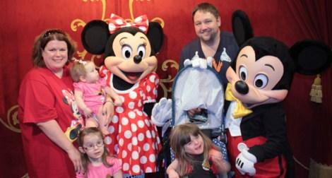 Meeting Mickey & Minnie