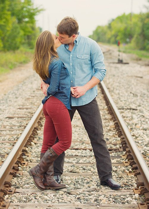 Outfits for Engagement Photos