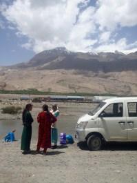 Waiting in Tajikistan