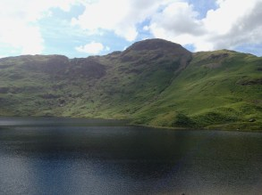 The gorgeous greens at Easedale tarn made for a fantastic post-marathon walk