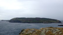 The Calf of Man, from the southernmost tip of the Isle of Man