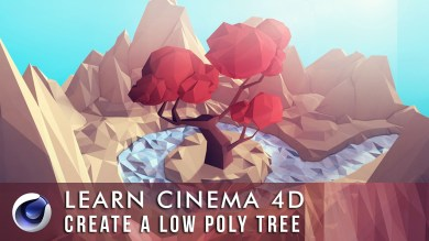 Skillshare - Low Poly Tree Cover