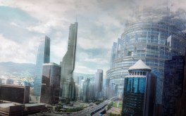 City Matte Painting
