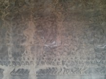 Angkor Archaeological Park - Angkor Wat carving 1