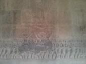 Angkor Archaeological Park - Angkor Wat carving 3
