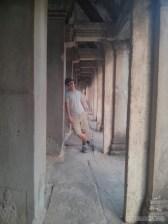 Angkor Archaeological Park - Angkor Wat portrait 1